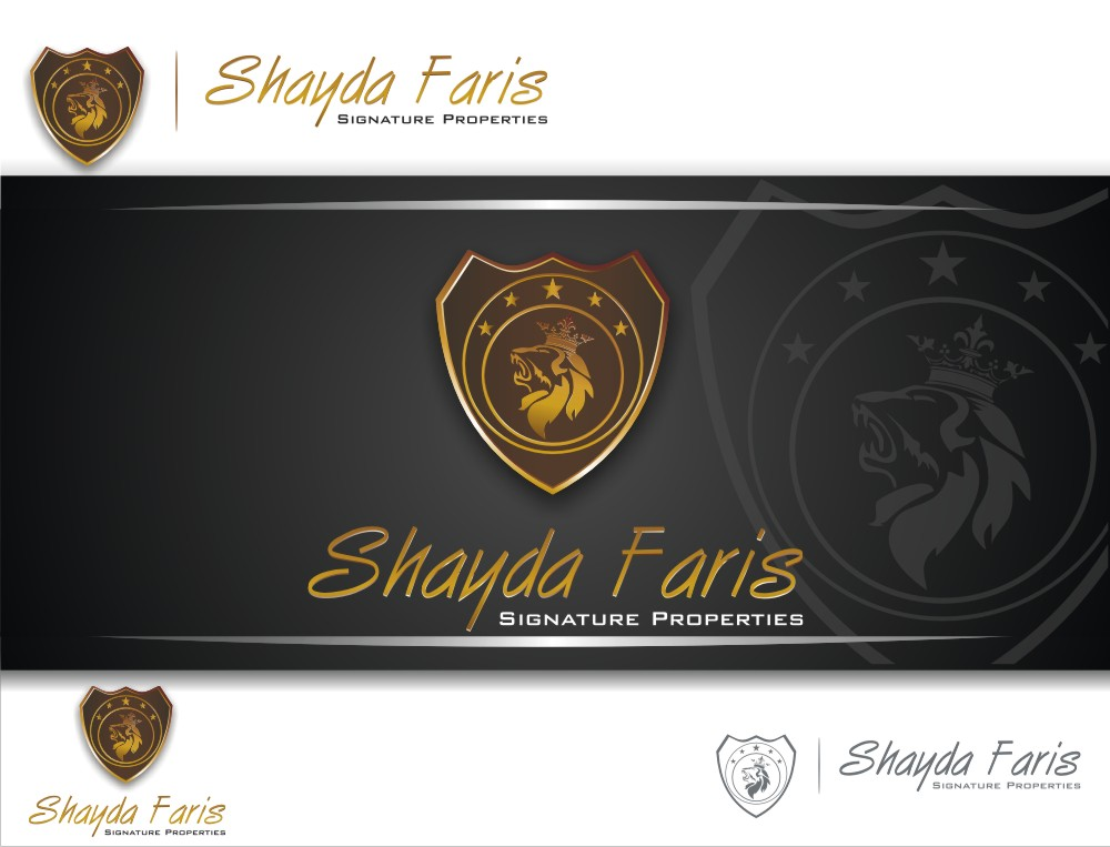Logo Design by graphicleaf - Entry No. 26 in the Logo Design Contest Unique Logo Design Wanted for Shayda Faris.