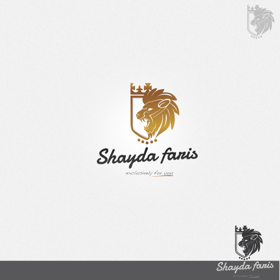 Logo Design by rockpinoy - Entry No. 29 in the Logo Design Contest Unique Logo Design Wanted for Shayda Faris.