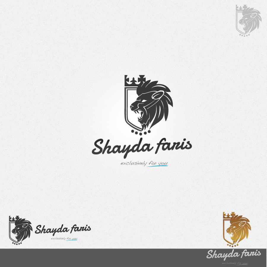 Logo Design by rockpinoy - Entry No. 30 in the Logo Design Contest Unique Logo Design Wanted for Shayda Faris.