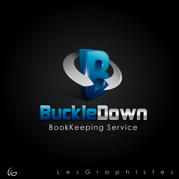 Logo Design by Les-Graphistes - Entry No. 50 in the Logo Design Contest Unique Logo Design Wanted for Buckle Down Bookkeeping Service.