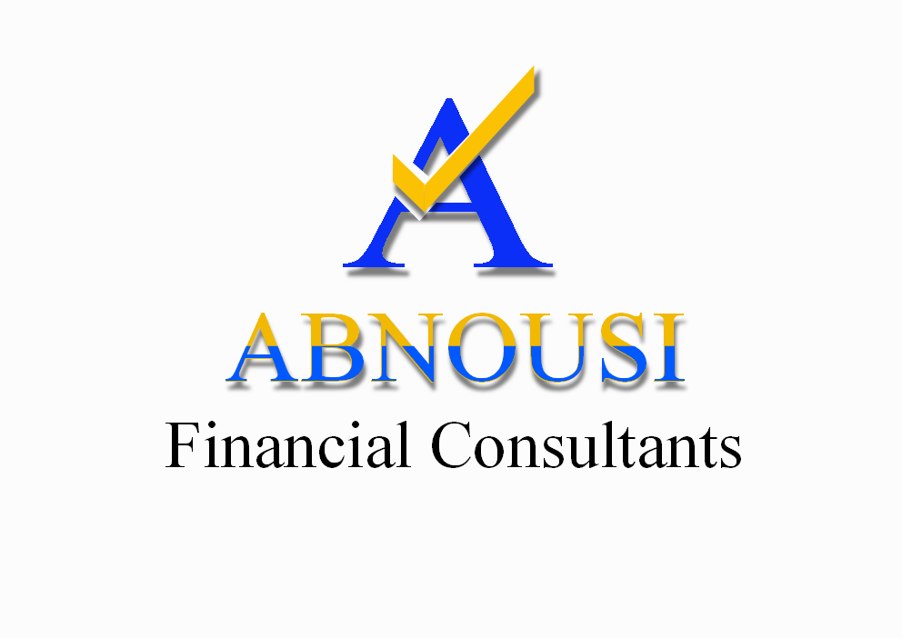 Logo Design by Heri Susanto - Entry No. 108 in the Logo Design Contest Fun Logo Design for Abnousi Financial Consultants.