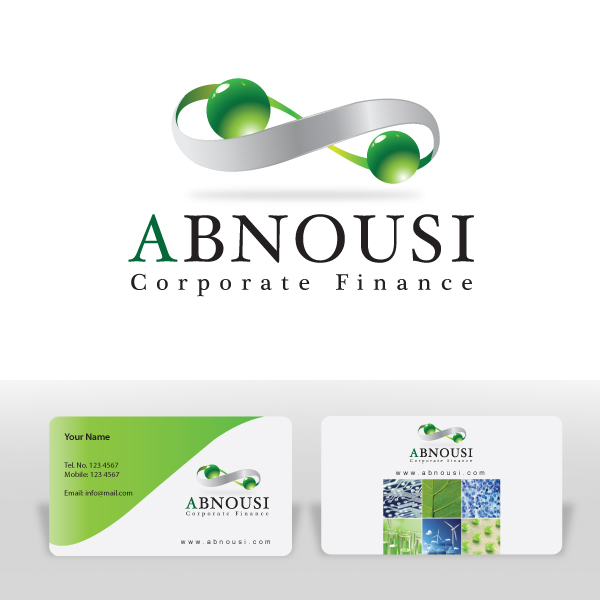 Logo Design by storm - Entry No. 123 in the Logo Design Contest Fun Logo Design for Abnousi Financial Consultants.