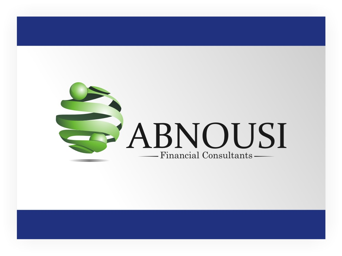 Logo Design by graphicleaf - Entry No. 125 in the Logo Design Contest Fun Logo Design for Abnousi Financial Consultants.