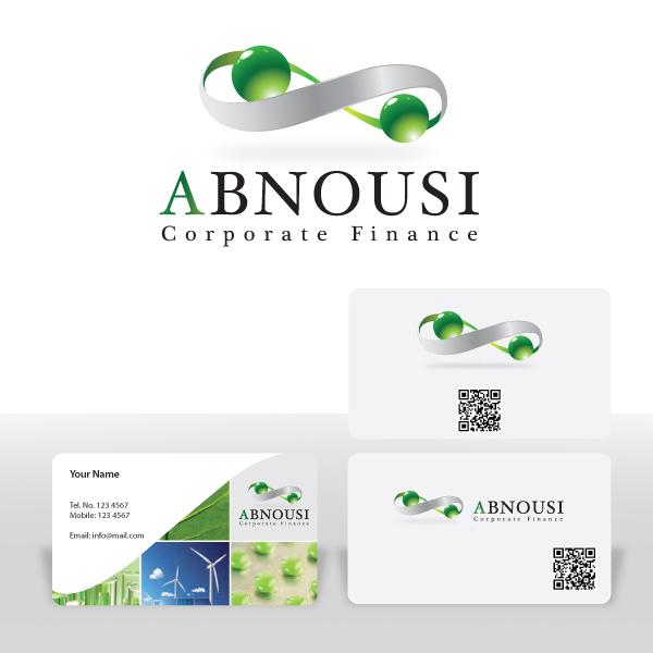 Logo Design by storm - Entry No. 126 in the Logo Design Contest Fun Logo Design for Abnousi Financial Consultants.