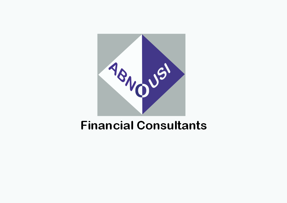 Logo Design by Heri Susanto - Entry No. 129 in the Logo Design Contest Fun Logo Design for Abnousi Financial Consultants.