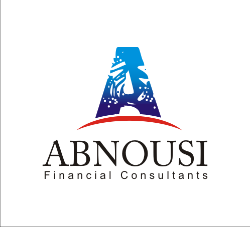 Logo Design by Alex63 - Entry No. 137 in the Logo Design Contest Fun Logo Design for Abnousi Financial Consultants.