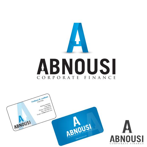 Logo Design by lumerb - Entry No. 139 in the Logo Design Contest Fun Logo Design for Abnousi Financial Consultants.