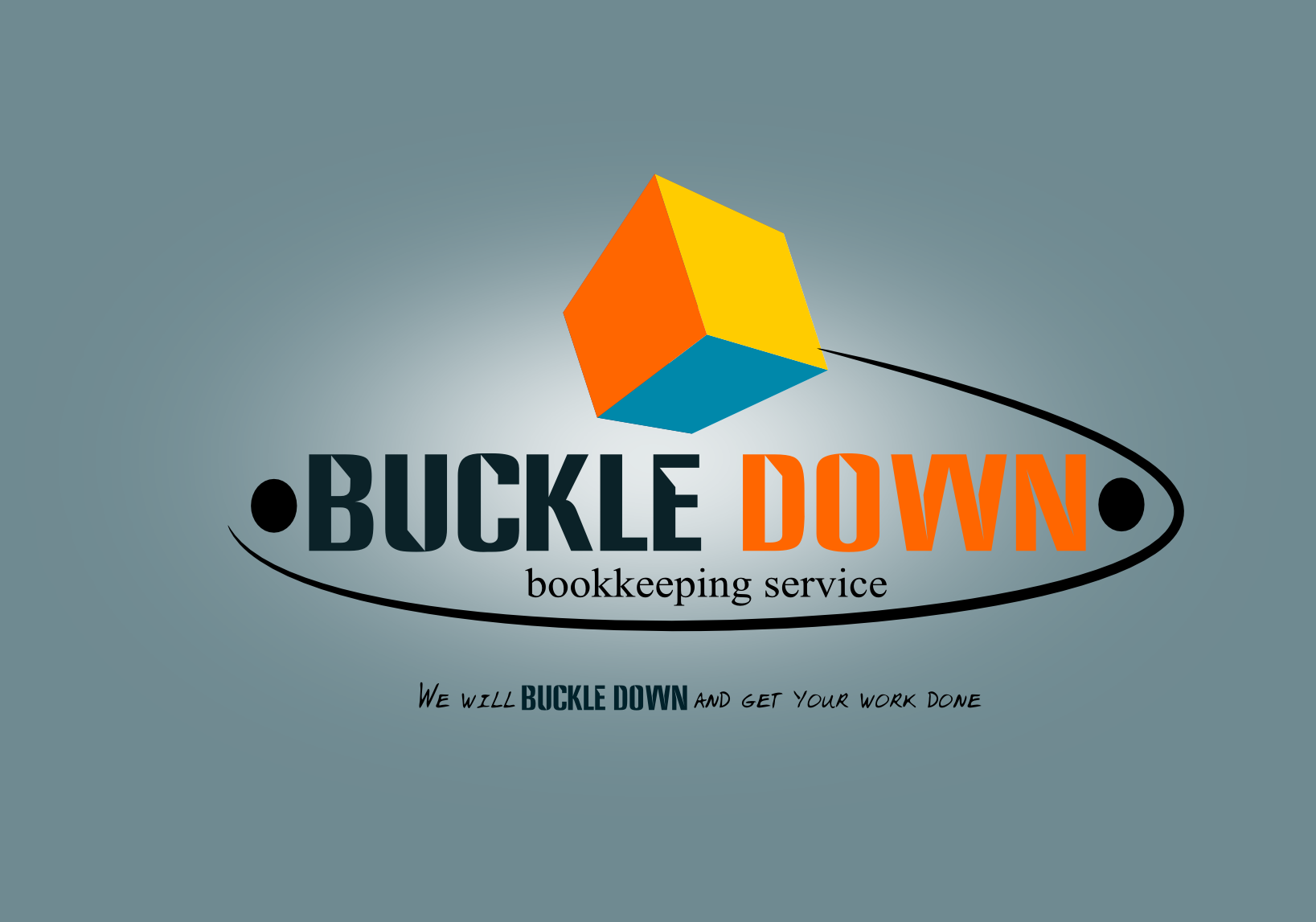 Logo Design by Joseph calunsag Cagaanan - Entry No. 67 in the Logo Design Contest Unique Logo Design Wanted for Buckle Down Bookkeeping Service.
