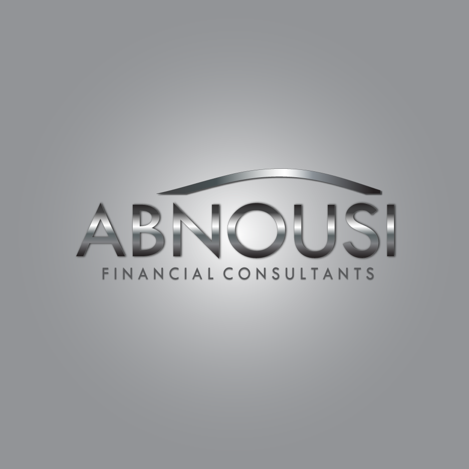 Logo Design by moonflower - Entry No. 143 in the Logo Design Contest Fun Logo Design for Abnousi Financial Consultants.