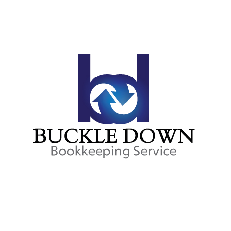 Logo Design by stormbighit - Entry No. 69 in the Logo Design Contest Unique Logo Design Wanted for Buckle Down Bookkeeping Service.