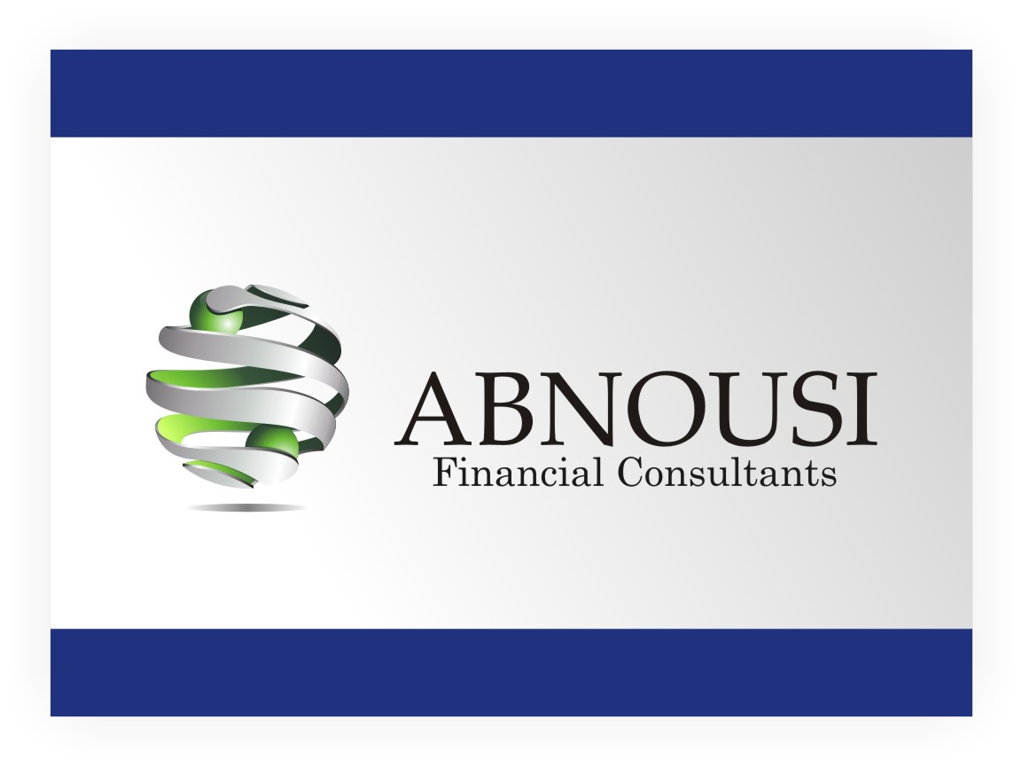 Logo Design by graphicleaf - Entry No. 148 in the Logo Design Contest Fun Logo Design for Abnousi Financial Consultants.