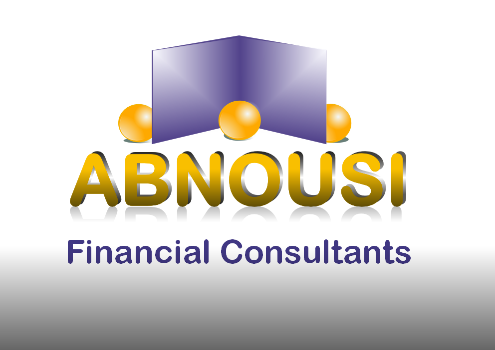 Logo Design by Heri Susanto - Entry No. 150 in the Logo Design Contest Fun Logo Design for Abnousi Financial Consultants.