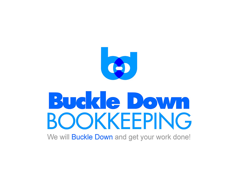 Logo Design by scorpy - Entry No. 71 in the Logo Design Contest Unique Logo Design Wanted for Buckle Down Bookkeeping Service.
