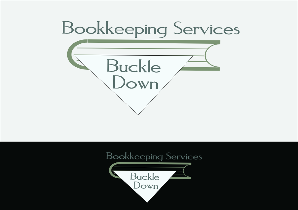 Logo Design by Heri Susanto - Entry No. 76 in the Logo Design Contest Unique Logo Design Wanted for Buckle Down Bookkeeping Service.