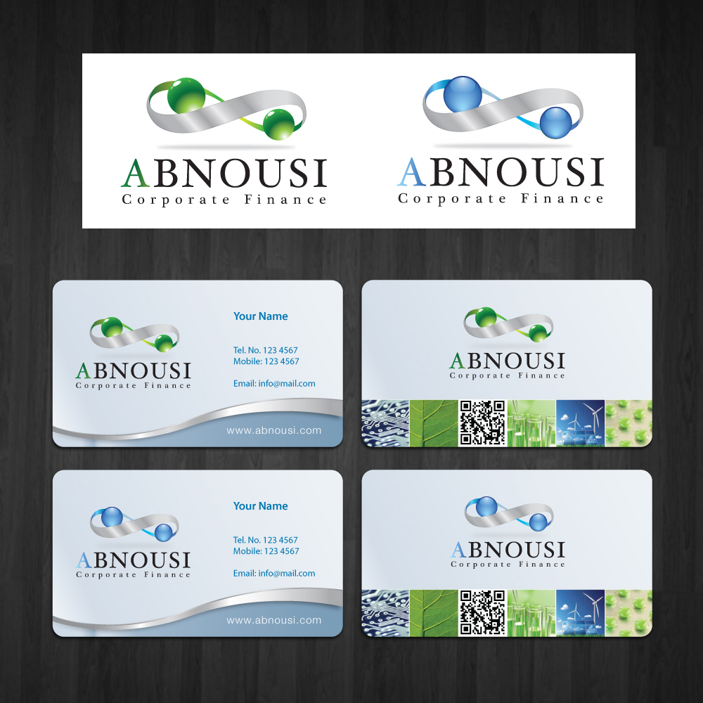 Logo Design by storm - Entry No. 158 in the Logo Design Contest Fun Logo Design for Abnousi Financial Consultants.