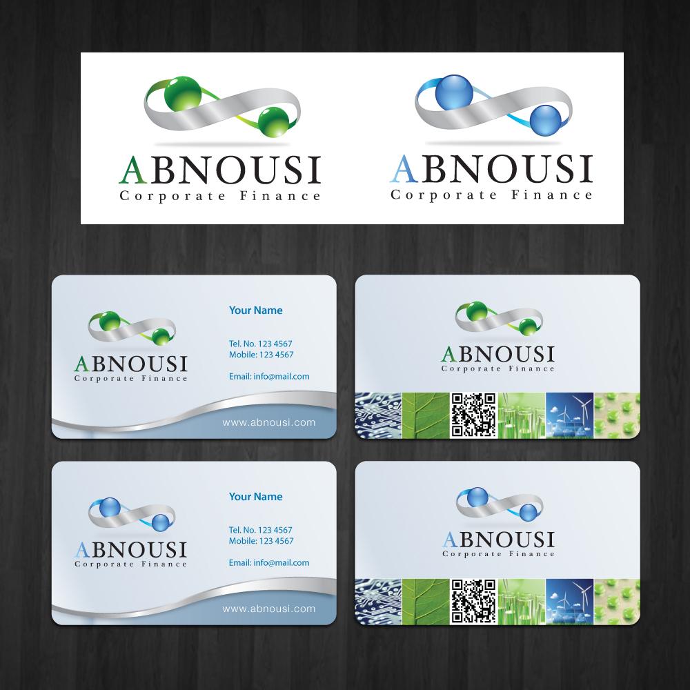 Logo Design by storm - Entry No. 158 in the Logo Design Contest Fun Logo Design for Abnousi Financial Consultants.