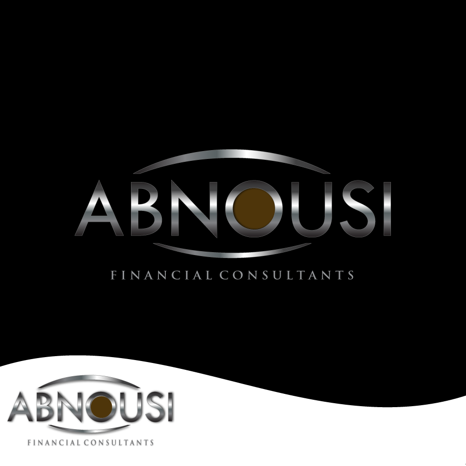 Logo Design by moonflower - Entry No. 165 in the Logo Design Contest Fun Logo Design for Abnousi Financial Consultants.