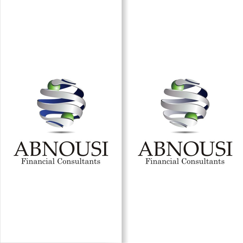 Logo Design by graphicleaf - Entry No. 168 in the Logo Design Contest Fun Logo Design for Abnousi Financial Consultants.