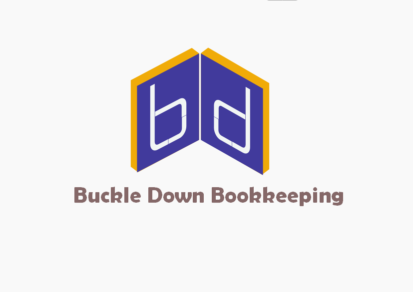 Logo Design by Heri Susanto - Entry No. 80 in the Logo Design Contest Unique Logo Design Wanted for Buckle Down Bookkeeping Service.