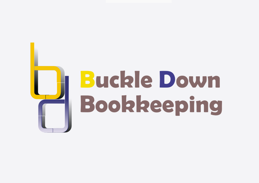 Logo Design by Heri Susanto - Entry No. 81 in the Logo Design Contest Unique Logo Design Wanted for Buckle Down Bookkeeping Service.