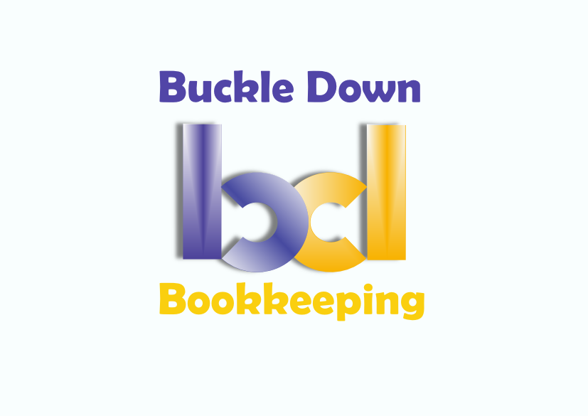 Logo Design by Heri Susanto - Entry No. 82 in the Logo Design Contest Unique Logo Design Wanted for Buckle Down Bookkeeping Service.