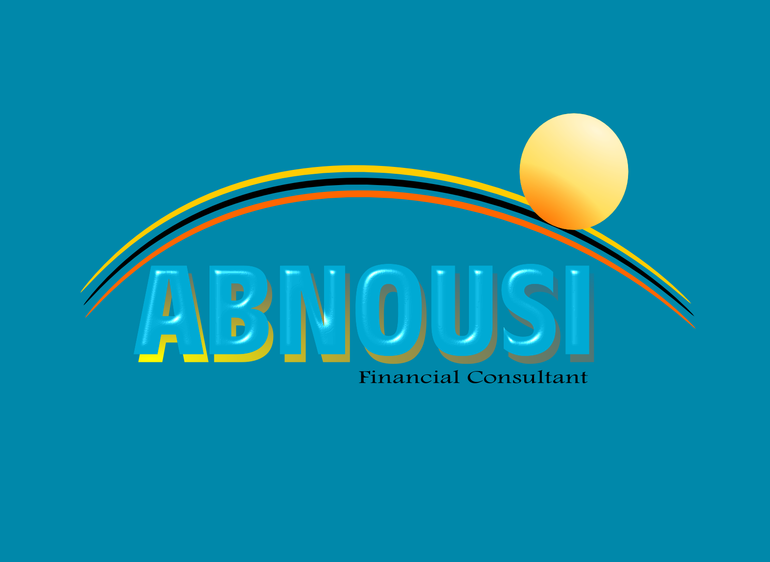 Logo Design by Joseph calunsag Cagaanan - Entry No. 170 in the Logo Design Contest Fun Logo Design for Abnousi Financial Consultants.