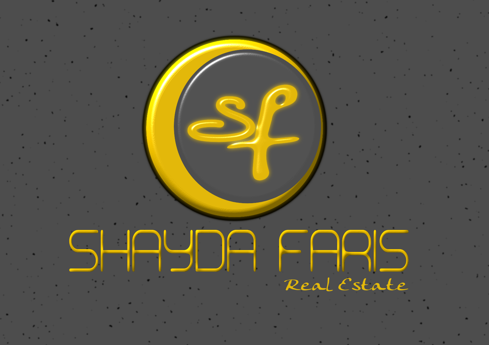 Logo Design by Joseph calunsag Cagaanan - Entry No. 62 in the Logo Design Contest Unique Logo Design Wanted for Shayda Faris.
