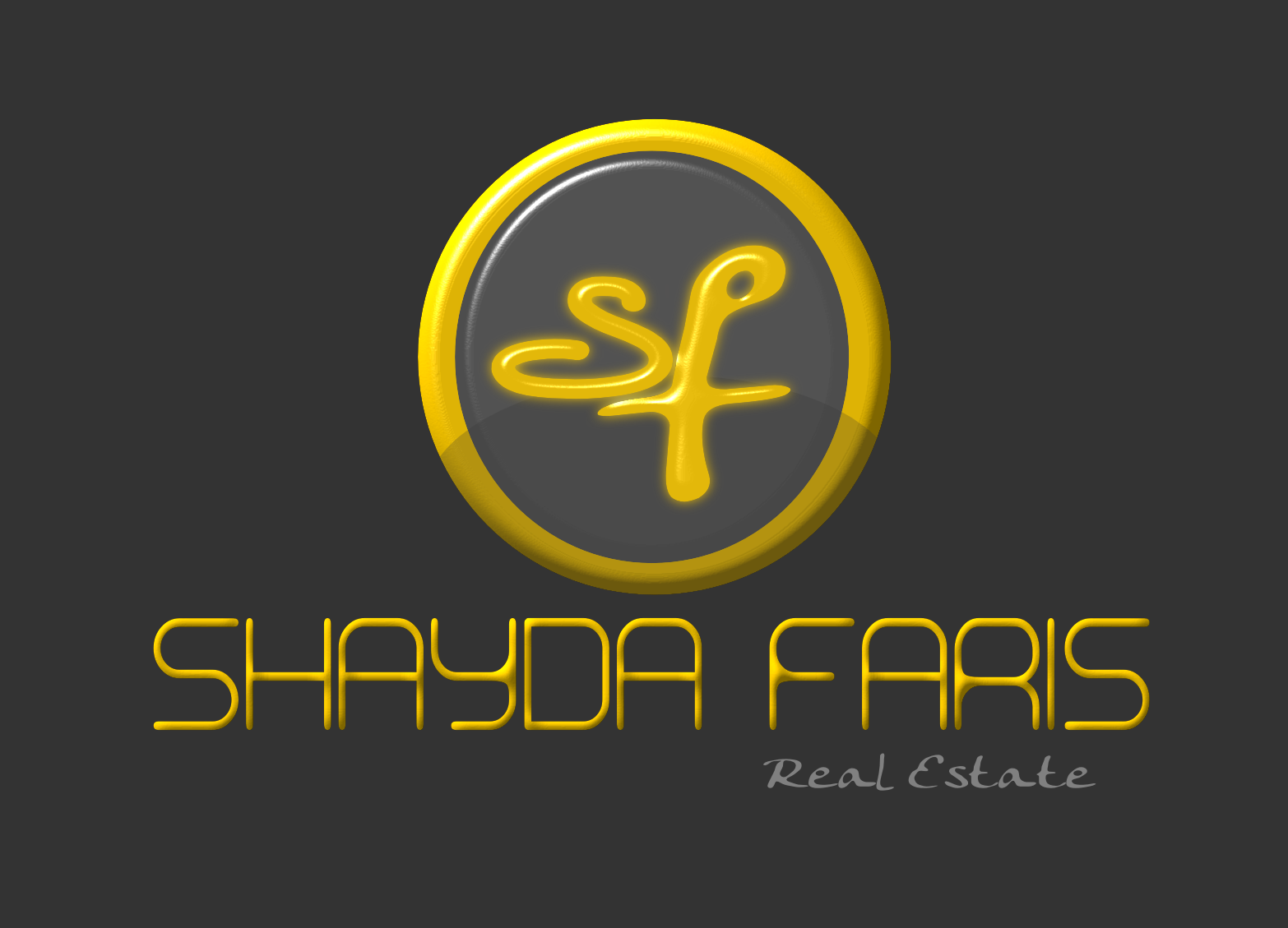 Logo Design by Joseph calunsag Cagaanan - Entry No. 63 in the Logo Design Contest Unique Logo Design Wanted for Shayda Faris.