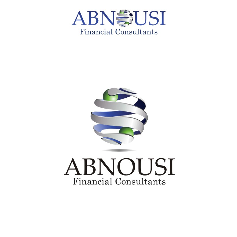 Logo Design by graphicleaf - Entry No. 176 in the Logo Design Contest Fun Logo Design for Abnousi Financial Consultants.
