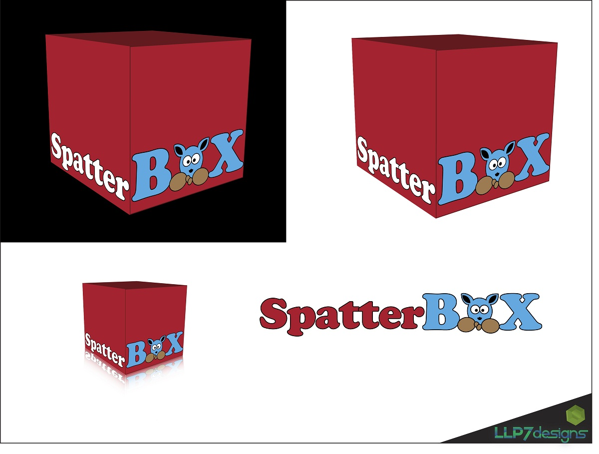 Logo Design by LLP7 - Entry No. 10 in the Logo Design Contest Logo Design Needed for Exciting New Company Spatterbox.