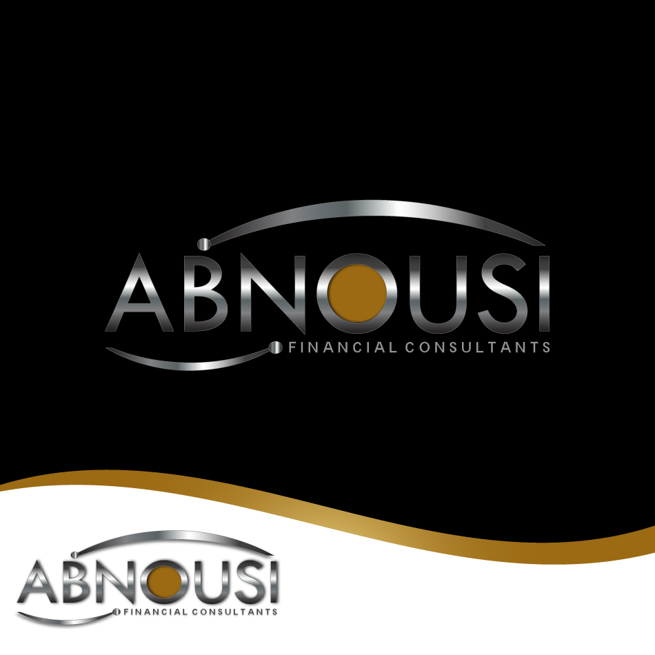 Logo Design by moonflower - Entry No. 180 in the Logo Design Contest Fun Logo Design for Abnousi Financial Consultants.