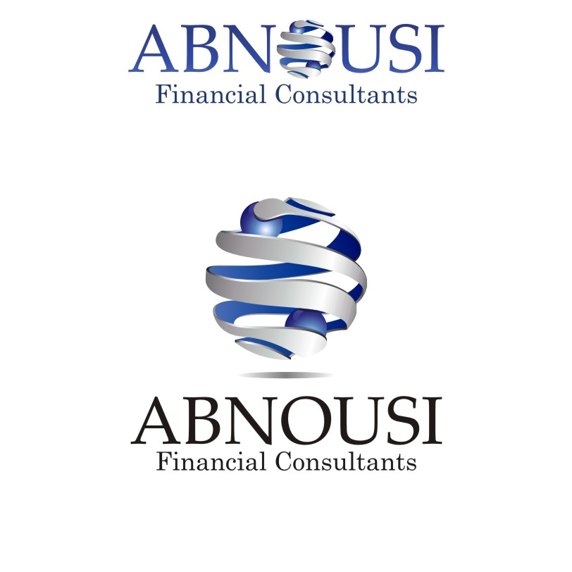 Logo Design by graphicleaf - Entry No. 185 in the Logo Design Contest Fun Logo Design for Abnousi Financial Consultants.