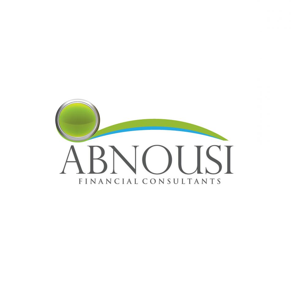 Logo Design by moonflower - Entry No. 197 in the Logo Design Contest Fun Logo Design for Abnousi Financial Consultants.