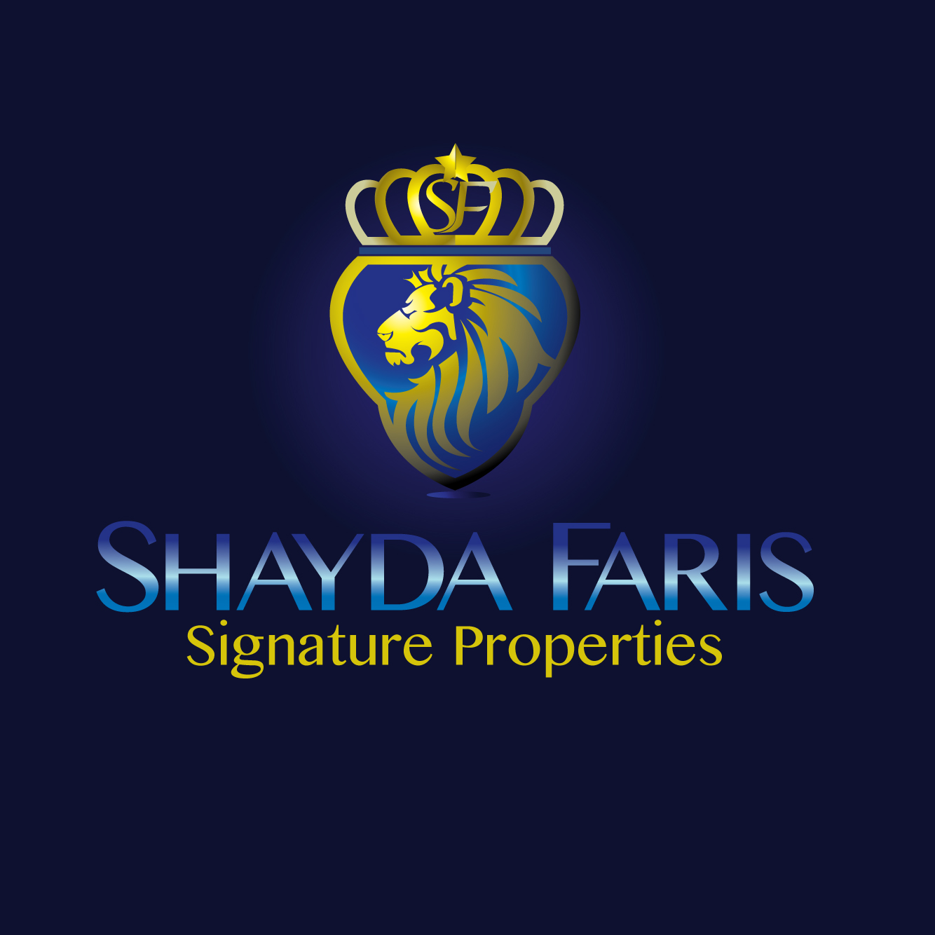 Logo Design by stormbighit - Entry No. 85 in the Logo Design Contest Unique Logo Design Wanted for Shayda Faris.