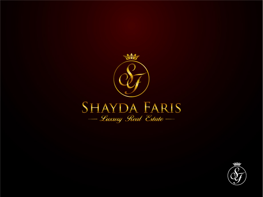 Logo Design by melpomena - Entry No. 93 in the Logo Design Contest Unique Logo Design Wanted for Shayda Faris.