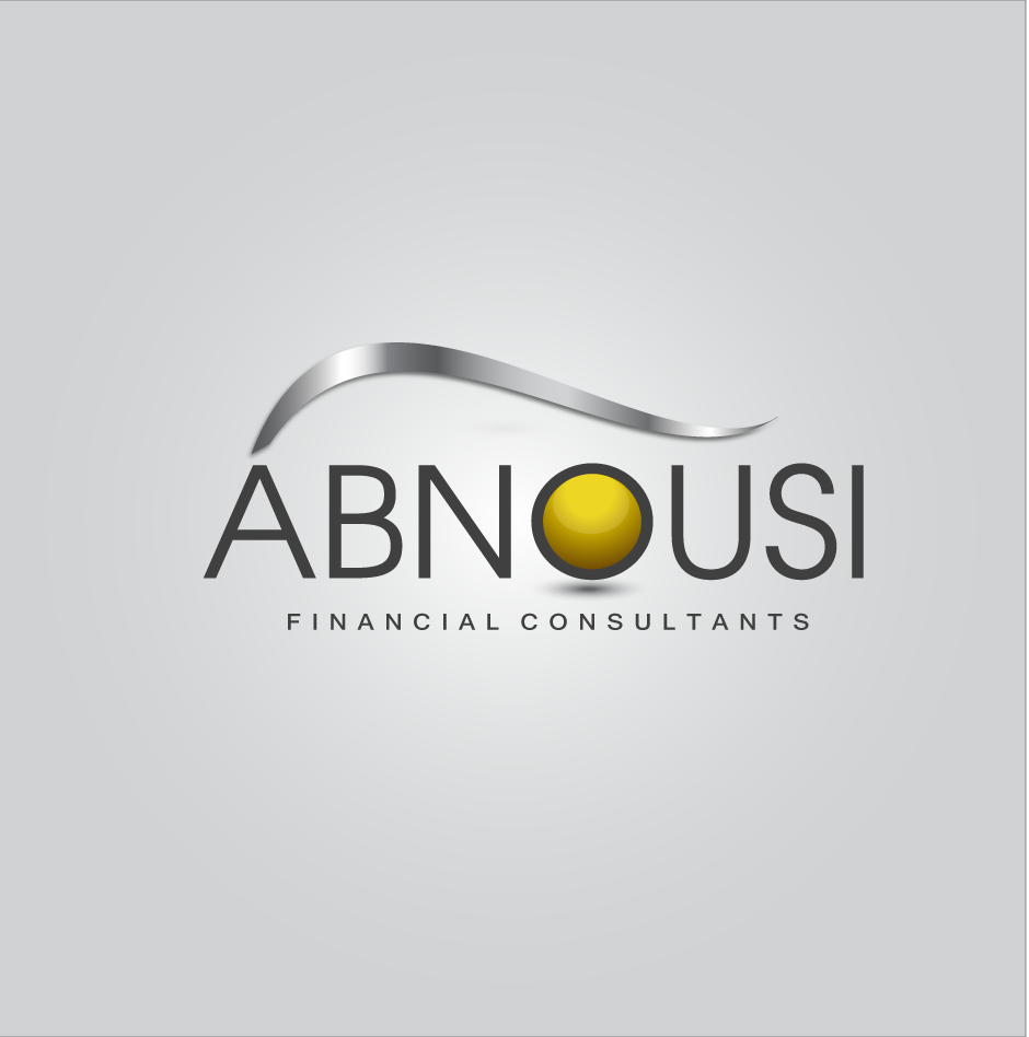 Logo Design by moonflower - Entry No. 199 in the Logo Design Contest Fun Logo Design for Abnousi Financial Consultants.