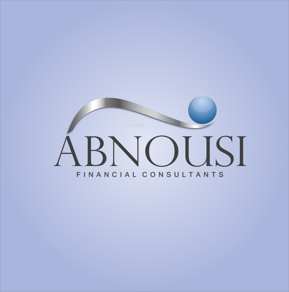Logo Design by moonflower - Entry No. 200 in the Logo Design Contest Fun Logo Design for Abnousi Financial Consultants.