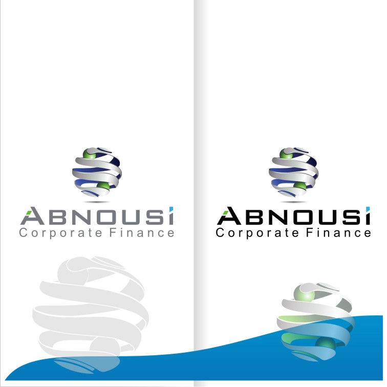 Logo Design by graphicleaf - Entry No. 206 in the Logo Design Contest Fun Logo Design for Abnousi Financial Consultants.