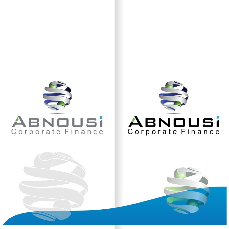 Logo Design by graphicleaf - Entry No. 207 in the Logo Design Contest Fun Logo Design for Abnousi Financial Consultants.