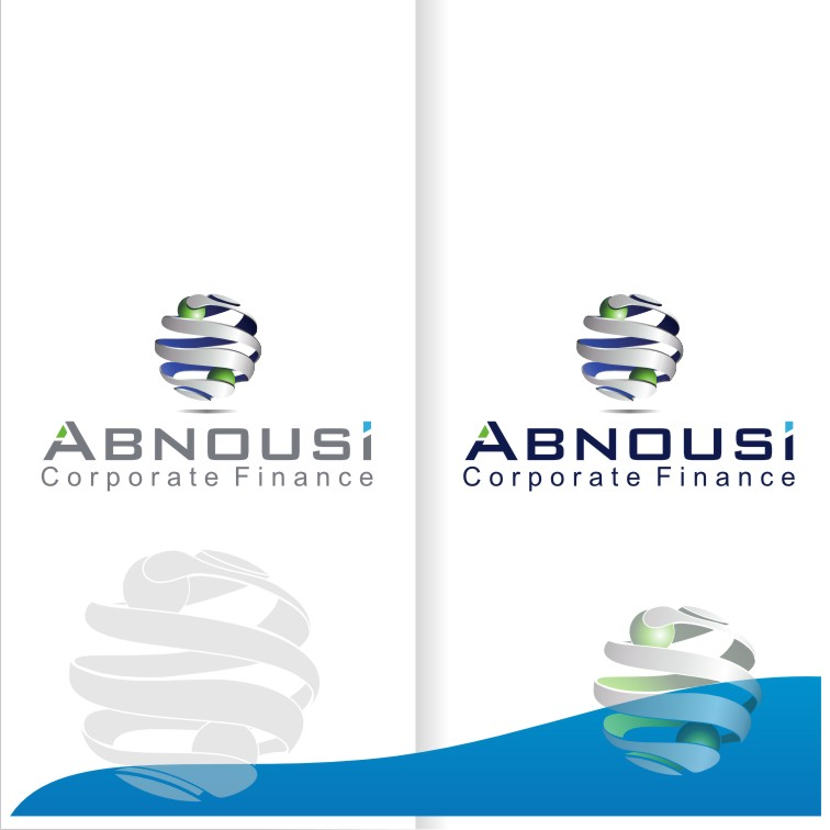 Logo Design by Muhammad Nasrul chasib - Entry No. 208 in the Logo Design Contest Fun Logo Design for Abnousi Financial Consultants.