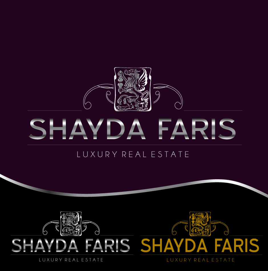 Logo Design by moonflower - Entry No. 103 in the Logo Design Contest Unique Logo Design Wanted for Shayda Faris.