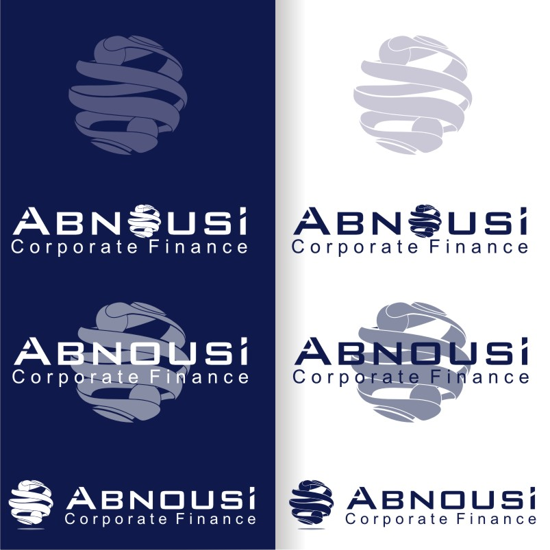Logo Design by graphicleaf - Entry No. 210 in the Logo Design Contest Fun Logo Design for Abnousi Financial Consultants.