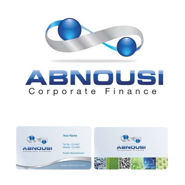 Logo Design by storm - Entry No. 212 in the Logo Design Contest Fun Logo Design for Abnousi Financial Consultants.