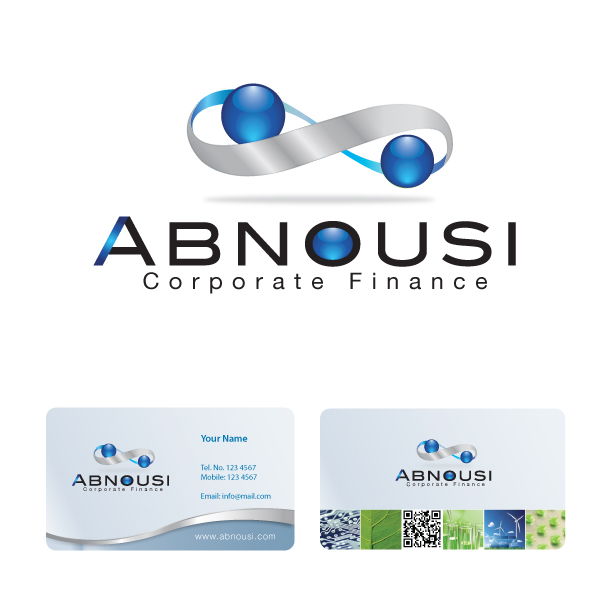 Logo Design by storm - Entry No. 213 in the Logo Design Contest Fun Logo Design for Abnousi Financial Consultants.