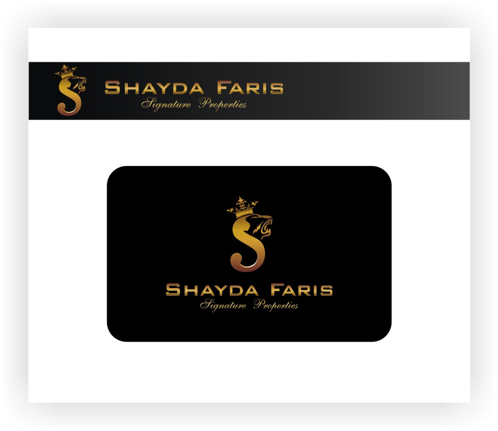 Logo Design by graphicleaf - Entry No. 126 in the Logo Design Contest Unique Logo Design Wanted for Shayda Faris.
