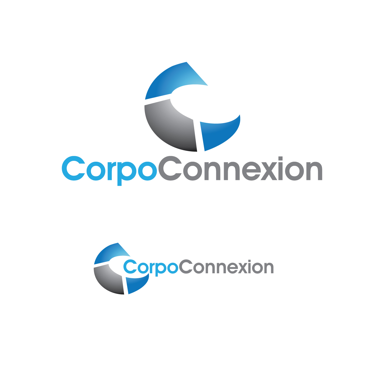 Logo Design by stormbighit - Entry No. 15 in the Logo Design Contest Fun Logo Design for Corpo Connexion.