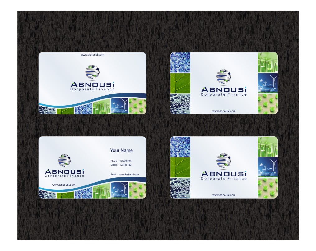 Logo Design by graphicleaf - Entry No. 218 in the Logo Design Contest Fun Logo Design for Abnousi Financial Consultants.