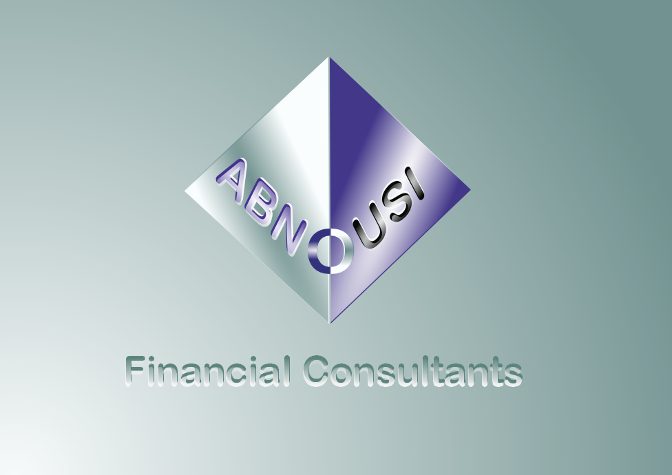 Logo Design by Heri Susanto - Entry No. 222 in the Logo Design Contest Fun Logo Design for Abnousi Financial Consultants.