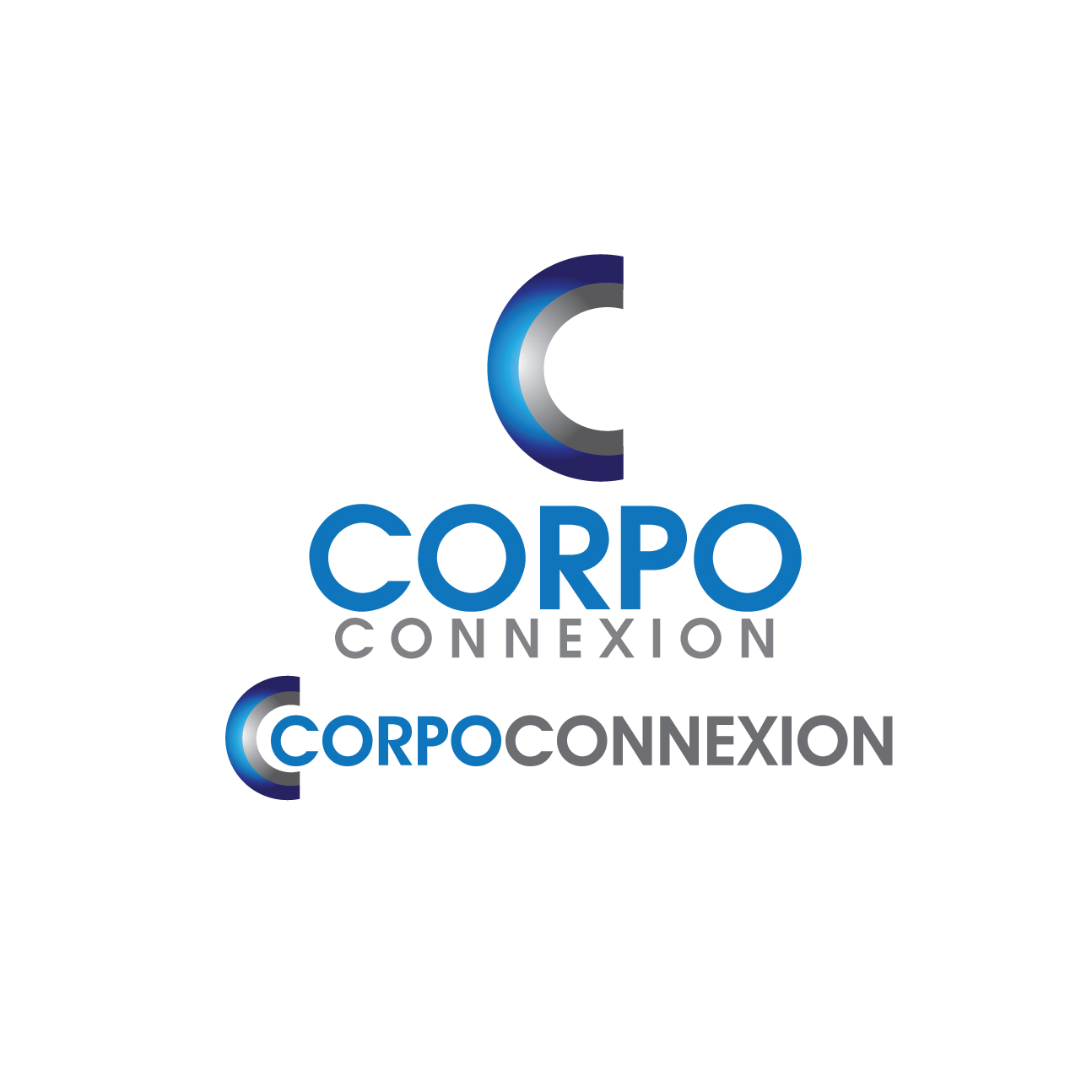 Logo Design by stormbighit - Entry No. 30 in the Logo Design Contest Fun Logo Design for Corpo Connexion.