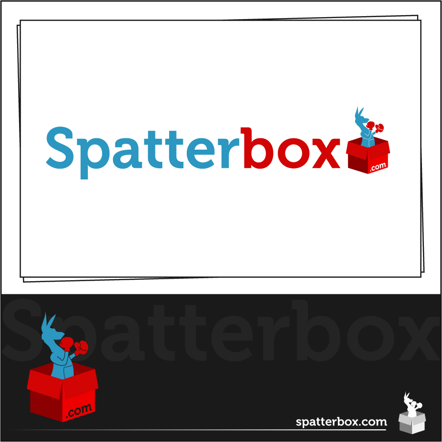 Logo Design by trav - Entry No. 62 in the Logo Design Contest Logo Design Needed for Exciting New Company Spatterbox.